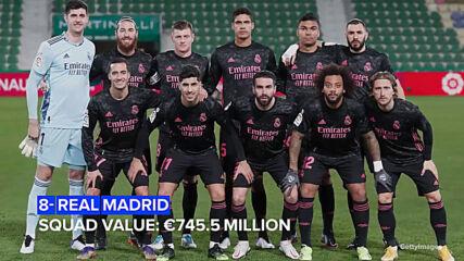 Кои са най-скъпите футболни отбори в света?