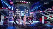 G D & Top ft. Park Ji Min - Oh Yeah ( 22-04-2012 S B S Kpop Star )