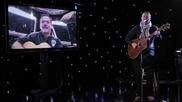 Крис Хедфийлд пее от Космоса!