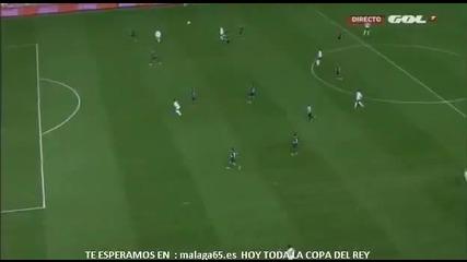 Изключително!!!защитник на Валенсия отбеляза гол от 50 метра!!!