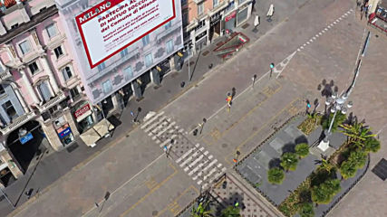 Italy: Drone footage shows Milan completely deserted amid coronavirus lockdown