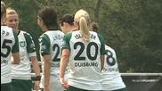 Женски футбол- Дуисбург- Есен Шьонебек 4:0