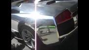 Lamborghini chrome Lp640 roadster