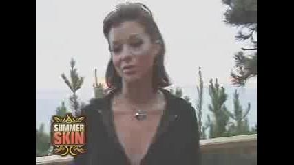 Wwe - Summer Skin - Candice Michelle