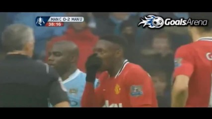 Manchester City - Manchester United 2-3 [01.8 2012]