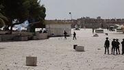 East Jerusalem: Police raid Al-Aqsa mosque as Israeli crackdown on Palestinians continues