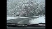 Сняг в Паничково