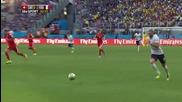 Швейцария 2 – 5 Франция / F I F A World Cup 2014 / Switzerland 2 – 5 France / Highlights: First Half