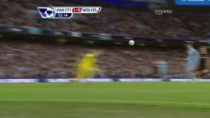 Manchester City 1-0 Wolves ( Dzeko )