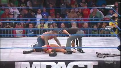 Мощно изпълнение на Кид Каш - impact Wrestling 2011.11.10