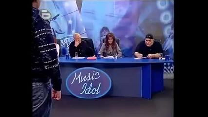 Music Idol- Той е дебееел! (смях)