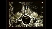 Light and L Death Note