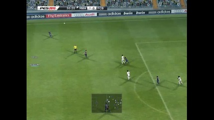 Real Madrid - Barcelona [pes 2013] (and penalty shoot)