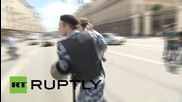 Russia: Moscow LGBT-parade breaks out in scuffles, five detained