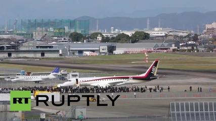 Japan: Mitsubishi successfully flies Japan's first ever passenger jet
