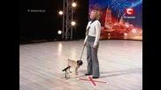 Пеещо куче в украйна търси талант-сезон 2 - 6