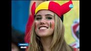 Момиче стана модел, докато гледа мач на Белгия - Новините на Нова