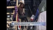 Чешката полиция използва сълзотворен газ срещу имигранти