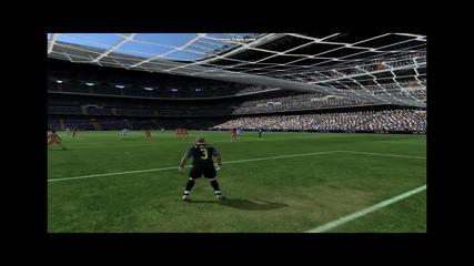 Cristiano Ronaldo - Free kick 39yrd Online Fifa 11