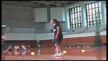 Най - бързото скачане на въже!