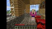 |minecraft| white Kaneva1p - еп 4 Започваме къща