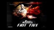 The Fast and Furious 5 Fast Five Cast