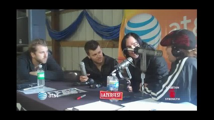 Lazerfest 2010 - Three Days Grace Interview