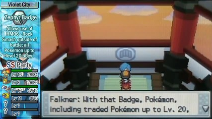 Pokemon Soul Silver Part 7 - Falkner