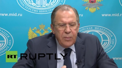 Russia: Europe needs a united and independent position towards Ukraine - Lavrov