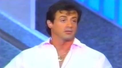 1988: Силвестър Сталоун дава интервю на Рей Мартин