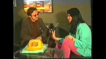 Goran Bregović - Intervju pred prvi koncert Orkestra u Srbiji 1995