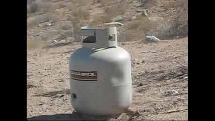 Desert Eagle .50 vs. Gas Tank