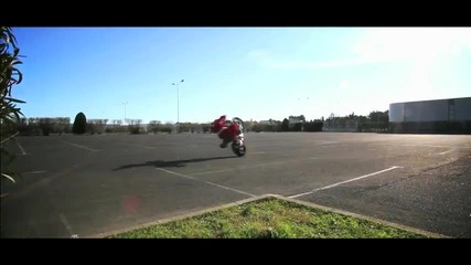 Santa Claus Freestyle Motorbike - Jorian Ponomareff