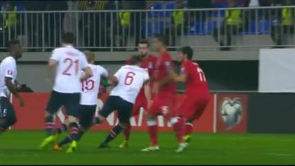 Азербайджан-Норвегия 0:1