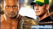 Wrestlemania 26 Batista vs John Cena match card