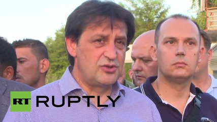 Serbia: We will respect humanity of refugees - Defence Minister Gasic