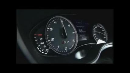 Audi S7 Sportback(2012) acceleration 20-110 km-h