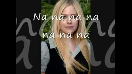 Avril Lavigne Slipped away