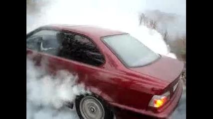 Bmw 318is - burnout