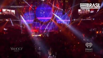 Ariana Grande & Nicki Minaj - Bang Bang / На Живо - Iheart Radio /