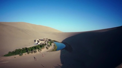 Прекрасни гледки от Пустинята Гоби! Китай
