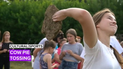 Cultural Sport: Cow Pie Tossing in Russia