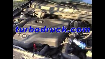 Diesel Blow Off Sound Video