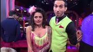 Dancing Stars - Елена Георгиева и Деян зад кадър