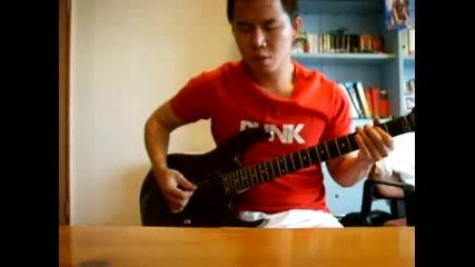 D - Generation X theme song на китара