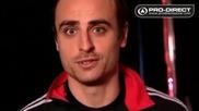 Dimitar Berbatov Manchester United - adidas teammates