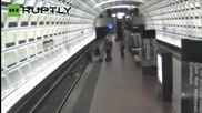 Good Samaritans Save Man in Wheelchair Who Fell on Subway Tracks
