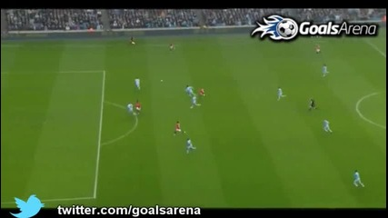 Манчестър Сити - Манчестър Юнайтед 0-1 гола на Рууни 8.1.2012