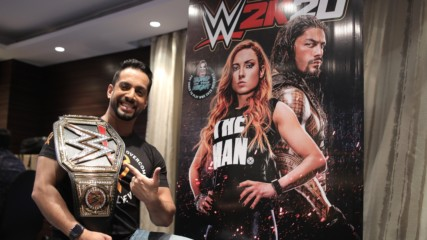 Indian Gamers review WWE 2K20: WWE Now India
