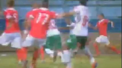 Голът на Радослав Димитров срещу Малта